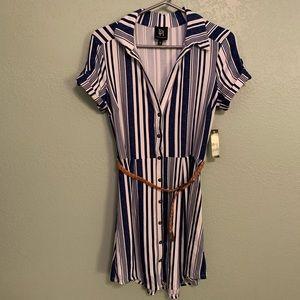 WOMEN'S SOFT SOFT DRESS WITH BELT